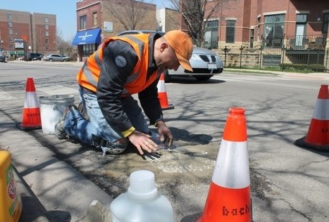 The Pothole Art Vigilante Has Returned, This Time With Garbage Mosaics | A. Perry Design Lounge | Scoop.it