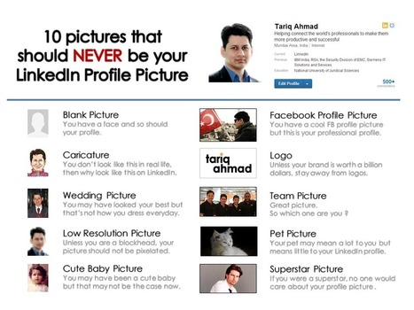 10 pictures that should NEVER be your LinkedIn Profile Picture | How to use LinkedIn | Scoop.it