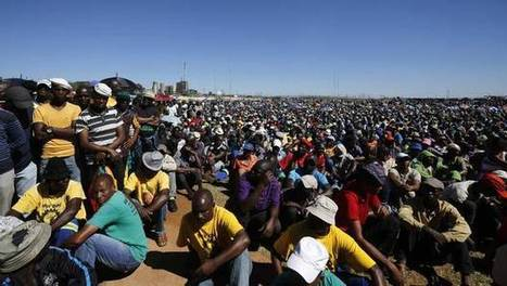 Showdown looms in South African platinum strike   NGOs in Human Rights, Peace and Development   Scoop.it