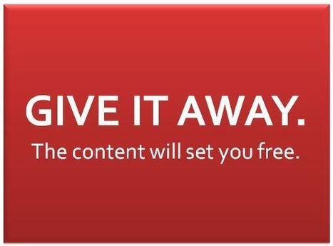 4 content marketing tips from Mark Schaefer - Spundge | Social Media 4 U | Scoop.it