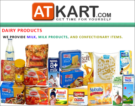 Online Shopping Complete Store - Buy Grocery, Dairy, Fruits & veg, Personal Care, Households, Mobiles, Books, Entertainment, Kitchenware, Health Equipment at Atkart.com | www.atkart.com  the online grocery store | Scoop.it