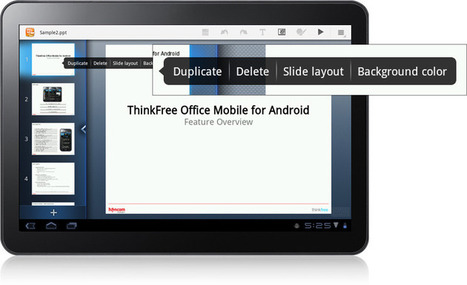 ThinkFree Mobile: Show - presentation program and PDF viewer | Information Technology Learn IT - Teach IT | Scoop.it