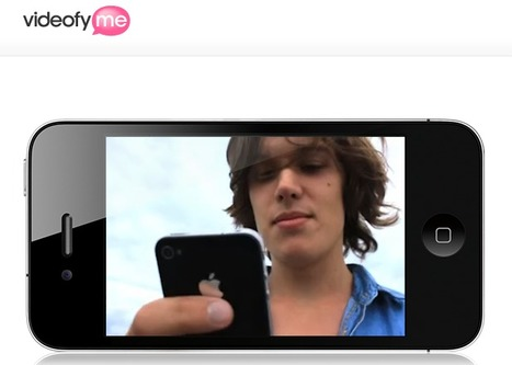 A Video Service For Blogs   VideofyMe   Teaching in the XXI Century   Scoop.it