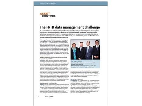 The FRTB data management challenge - Asset Control   liquidity risk   Scoop.it