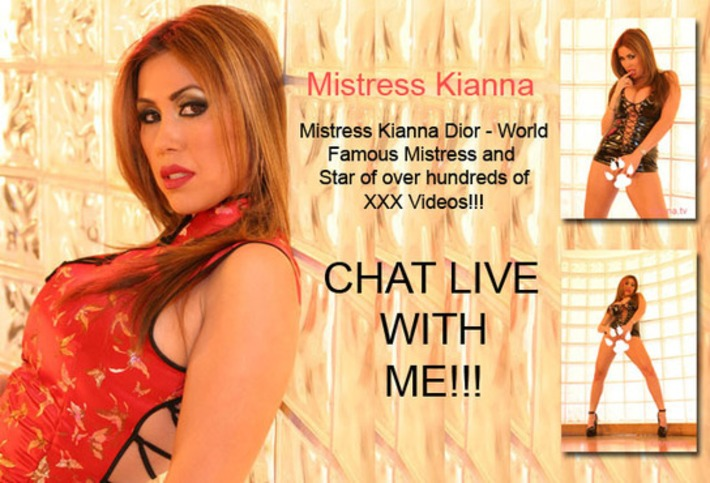 Chat Live with Mistress Kianna Dior | Phone Sex | Scoop.it