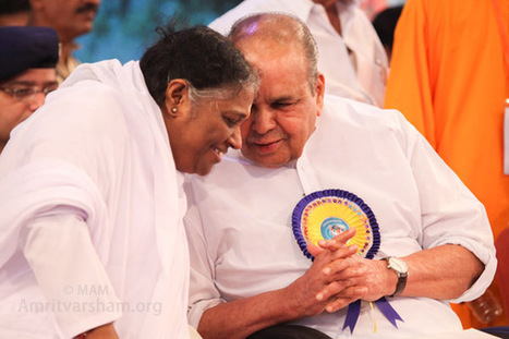 "Amma France : ""Rendre notre monde meilleur 