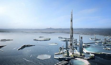 Tokyo 2045 : le projet architectural un peu fou pour dynamiser la capitale japonaise | Cities and buildings of Tomorrow | Scoop.it