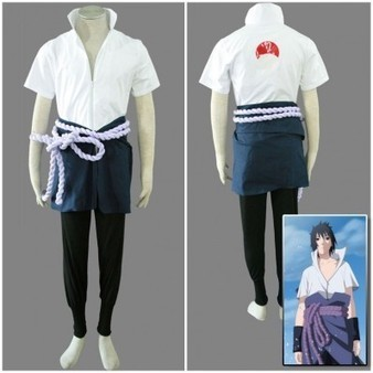 Cheap Anime Naruto Uchiha Sasuke Cosplay Costume For Mens Halloween Costume Party | Personalized Clothing | Scoop.it