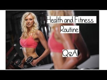 My Health and Fitness Routine - Q&A - Blonde Health   Latest Fitness Trends   Scoop.it