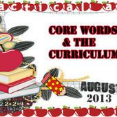 Core in the Curriculum | Core Vocabulary | Scoop.it