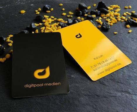 20 Impressive Round Corner Business Card Designs | HybridLava | Best Business Cards | Scoop.it