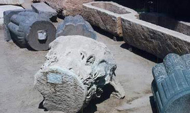 Egypt police move to protect Merneptah's pillar in Matariya - Ancient Egypt - Heritage - Ahram Online | Ancient Egypt and Nubia | Scoop.it