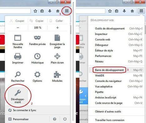 Faire une copie d'écran d'une page web entière avec Firefox | Byothe | Webdesign, Créativité | Scoop.it