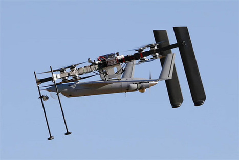 Watch This Massive Drone Launch and Recover Another Drone in Flight | Heron | Scoop.it