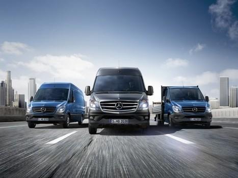 Presentada la nueva generación de la Sprinter | Areavan | Scoop.it