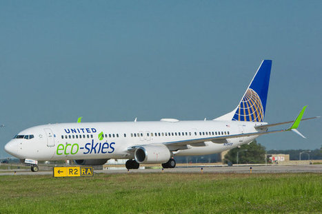 Farm Waste and Animal Fats Will Help Power a United Jet | Sustainable Futures | Scoop.it