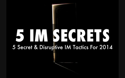 5 Secret & Highly Disruptive Internet Marketing Tactics For 2014 via ScentTrail Marketing | digital marketing strategy | Scoop.it