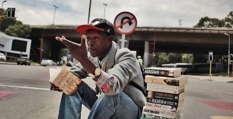 Instead of begging, homeless man reviews books on the street and sells them (but not to kids) | Reading discovery | Scoop.it
