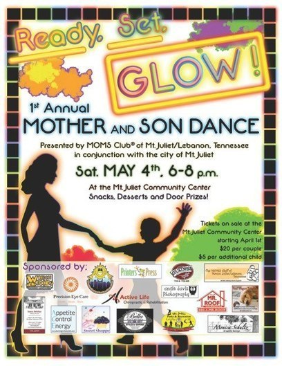 1st Annual Mother and Son Dance - Mount Juliet, TN - Nashville Fun For Families | Tennessee Libraries | Scoop.it