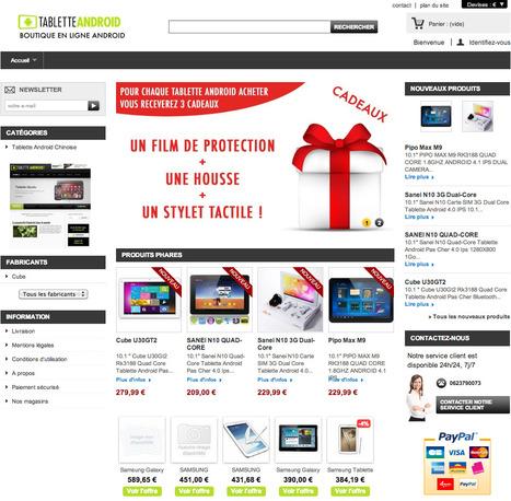 Nouvelle boutique de Tablette Android | Actualité des Tablettes Android™ | Scoop.it