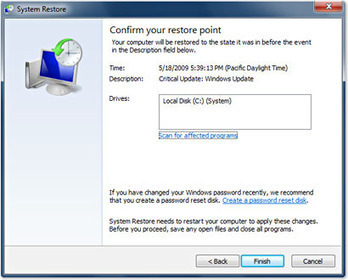 System Restore - Windows 7 features - Microsoft Windows | Free Tutorials in EN, FR, DE | Scoop.it