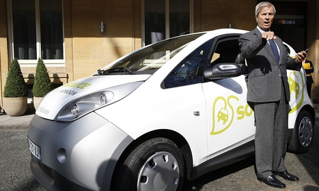 Tycoon Vincent Bolloré to back London electric car hire scheme ... | Car Rental and Travel Guides | Scoop.it