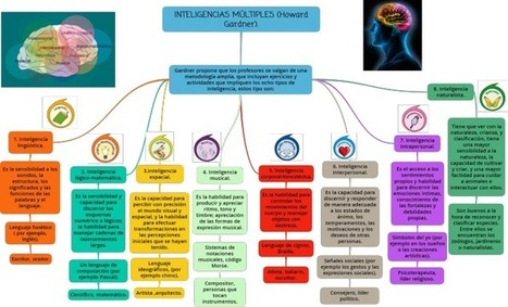 Mapa Conceptual de las Inteligencias Múltiples de Gardner | Infografía | Web 2.0 y sus aplicaciones | Scoop.it