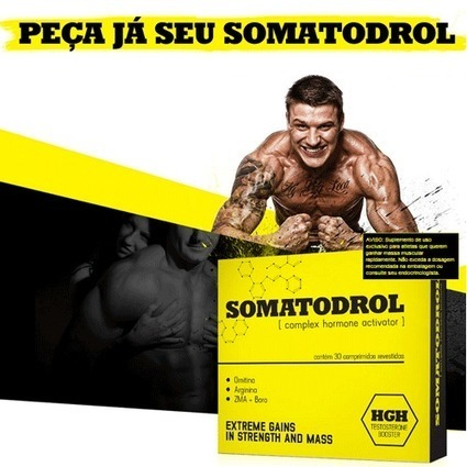 Somatodrol Análise – Prepare-se Para Ganhos Extremo! | Build Muscles And Get Stronger! | Scoop.it