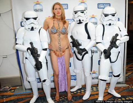 Maitland Ward Hits Up Long Beach Comic Expo As Princess Leia | The Web Things | Scoop.it