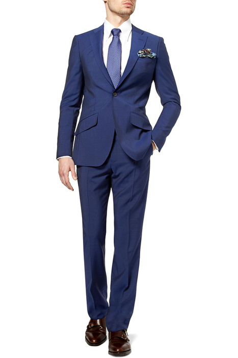 A Navy Suit Will Take Your Clothing Blues Away | Men Tailored Suits | Scoop.it