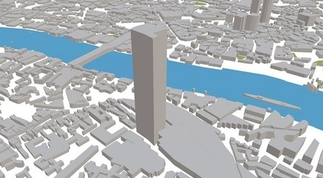 ViziCities permite visualizar multitud de datos sobre una ciudad modelada en 3D | Urbanismo, urbano, personas | Scoop.it