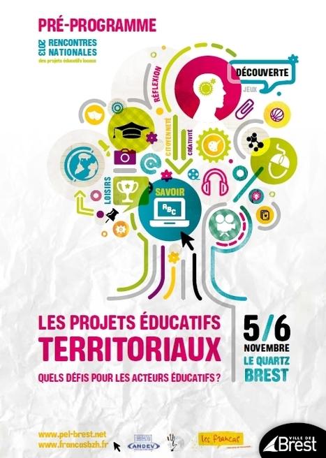 Rencontres des projets educatifs locaux Brest - PEDT novembre 2013 | Rythmes scolaires, rythmes éducatifs, projet éducatif local | Scoop.it