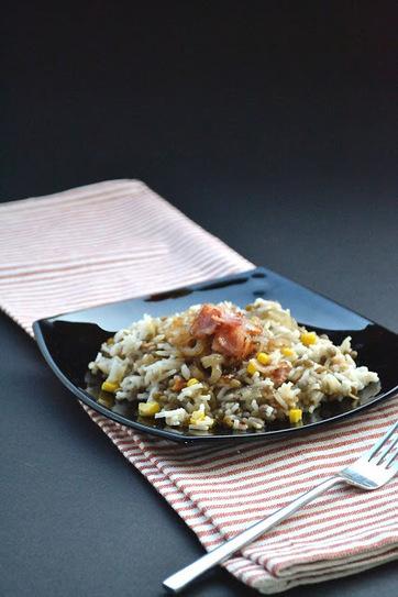 Sabor: Φακόρυζο με μπέικον / Lentils & rice with bacon | Συνταγές | Scoop.it
