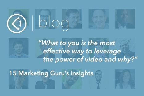 How 15 Rockstar Marketers Use Video | Public Relations & Social Media Insight | Scoop.it