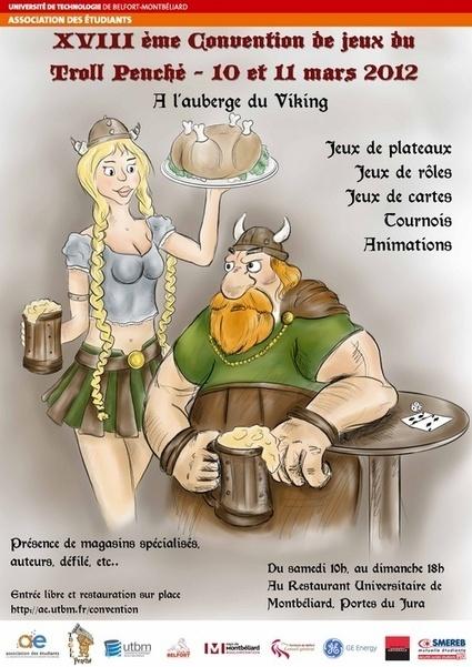 Convention du Troll Penché : - association des etudiants de l'utbm | JdR Francophone | Scoop.it