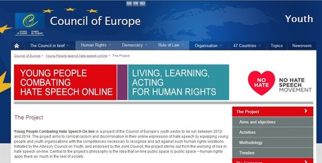 The Project  / Young People against hate speech online | Educommunication | Scoop.it