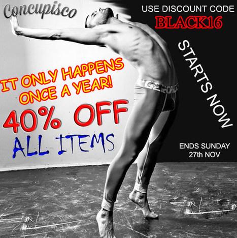 Black Friday MASSIVE SALE at Concupisco – Men's Underwear and Swimwear Blog | www.concupisco.com - Mens Underwear and Swimwear | Scoop.it
