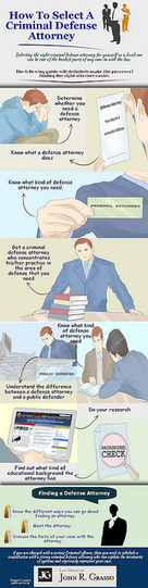How to Select a Criminal Defense Attorney #infographic | Legal Issues - Challenging Societies | Scoop.it