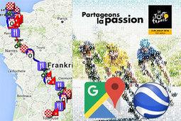 Le parcours @LeTour 2016 sur Google Maps/Google Earth, profils et itinéraires horaires | Chatellerault, secouez-moi, secouez-moi! | Scoop.it