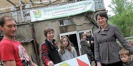 Millau : le premier drive fermier du Sud-Aveyron est ouvert | L'info tourisme en Aveyron | Scoop.it