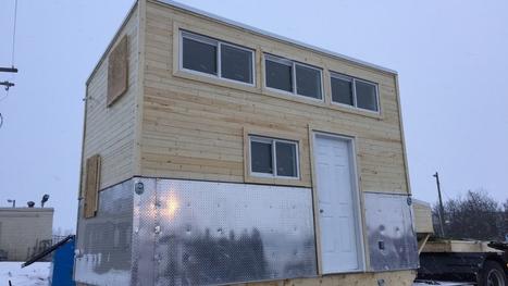 Idle No More tiny house stops in Saskatoon | AboriginalLinks LiensAutochtones | Scoop.it