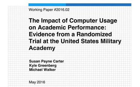 [PDF] Te impact of computer usage on academic performance | Edumorfosis.it | Scoop.it