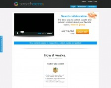 "Searcheeze. Outil de curation collaboratif. | Veille Techno et Informatique ""AutreMent"" 