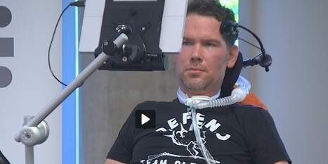 Steve Gleason was on the Microsoft campus to inspire teams of employees | #ALS AWARENESS #LouGehrigsDisease #PARKINSONS | Scoop.it