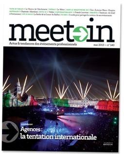 Grandes manœuvres dans l'événementiel - Meet>In | Le Tourisme d'Affaires | Scoop.it