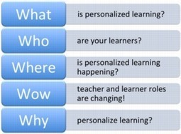 NEW 5 W's of Personalized Learning eCourse - Spring 2014 | Media & Art Education | Scoop.it