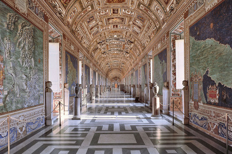 The Vatican's Gallery of Maps Comes Back to Life | Geography Education | Scoop.it