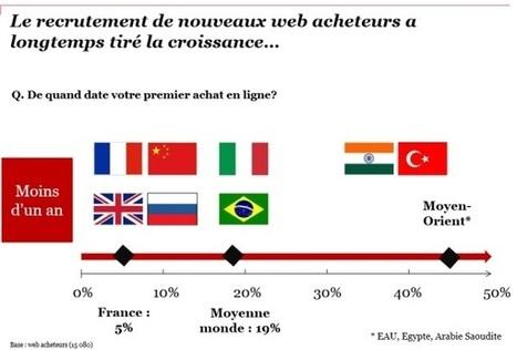 Nouveaux acheteurs, fréquence d'achats : le e-commerce français atteint un palier | Le Marketing 2.0 | Scoop.it