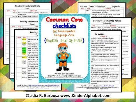 Kindergarten Common Core Standards checklist – FREE! | Most Popular Pins | Common Core | Scoop.it