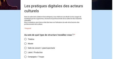Enquête : les pratiques digitales des acteurs culturels | Quatrième lieu | Scoop.it